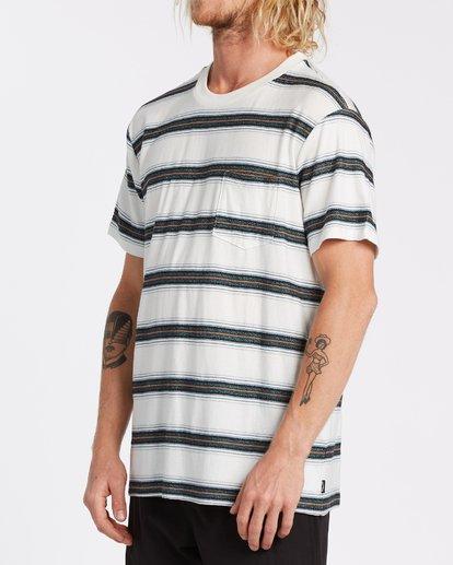 2 Hazer - T-Shirt für Männer Weiss T1JE11BIS0 Billabong