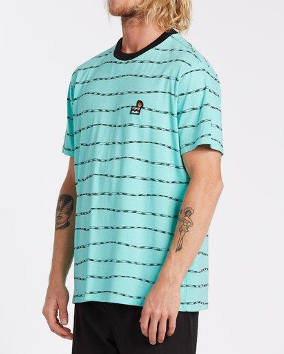 2 Truffula Trunk - T-shirt pour Homme Vert T1JE13BIS0 Billabong