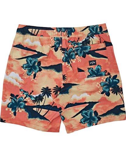 1 Sundays Layback - Short de natación para Hombre Multicolor T1LB03BIS0 Billabong
