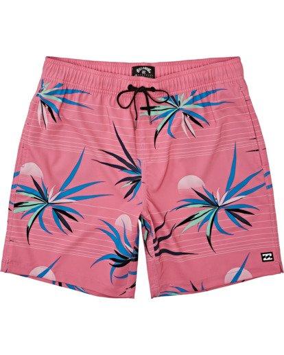 0 Sundays Layback - Swim Shorts for Men Pink T1LB03BIS0 Billabong