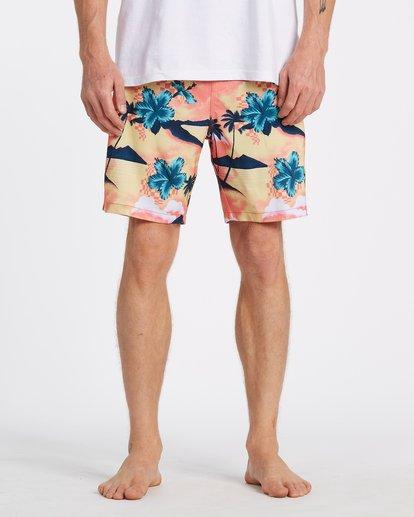 2 Sundays Layback - Short de natación para Hombre Multicolor T1LB03BIS0 Billabong