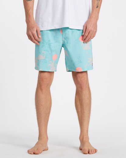 2 Sundays Layback - Swim Shorts for Men Green T1LB03BIS0 Billabong