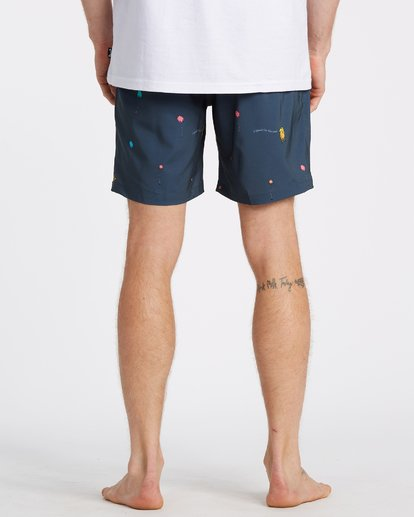 3 Lorax Mini Layback - Swim Shorts for Men Grey T1LB06BIS0 Billabong