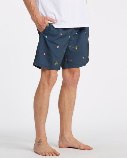 5 Lorax Mini Layback - Swim Shorts for Men Grey T1LB06BIS0 Billabong