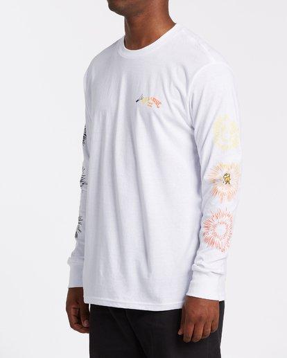 2 Speak For The Trees - Camiseta de manga larga para Hombre Blanco T1LS01BIS0 Billabong