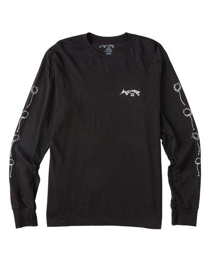 4 Truffula - T-shirt manches longues pour Homme Noir T1LS02BIS0 Billabong
