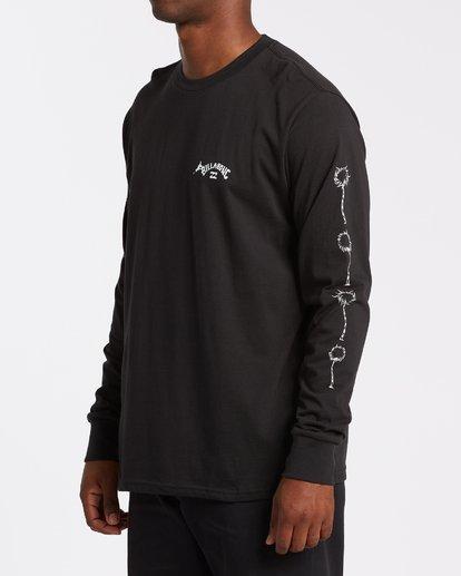 2 Truffula - T-shirt manches longues pour Homme Noir T1LS02BIS0 Billabong