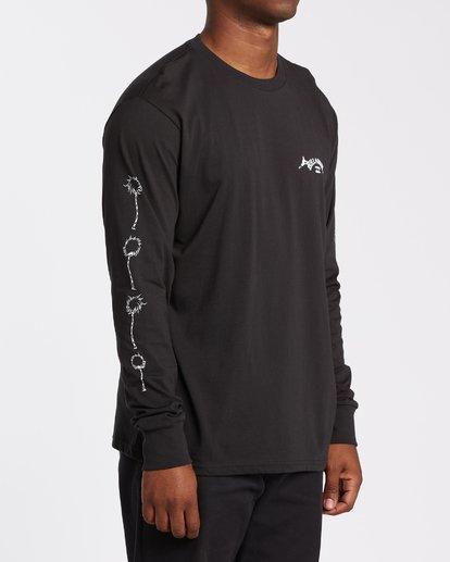 3 Truffula - T-shirt manches longues pour Homme Noir T1LS02BIS0 Billabong