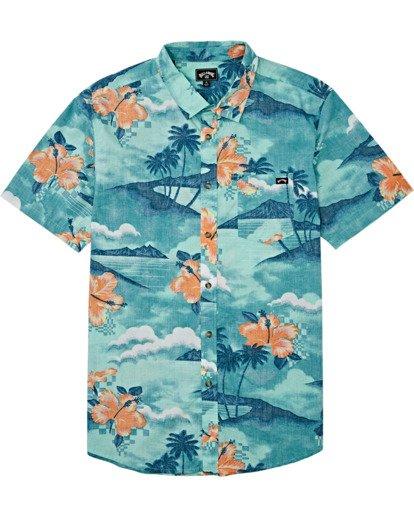 3 Sundays Floral - Camiseta de manga corta para Hombre Azul T1SH03BIS0 Billabong