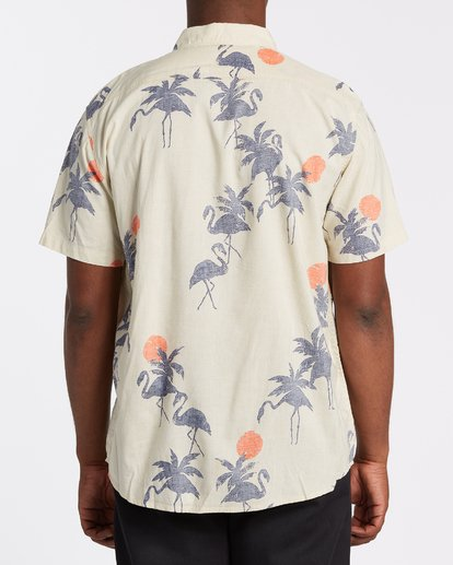 1 Sundays Floral - T-Shirt mit kurzen Ärmeln für Männer Grau T1SH03BIS0 Billabong
