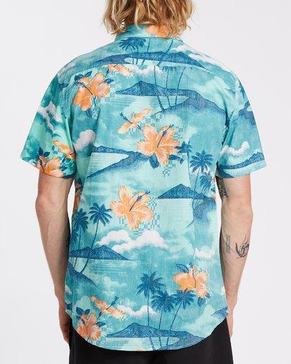 1 Sundays Floral - Camiseta de manga corta para Hombre Azul T1SH03BIS0 Billabong