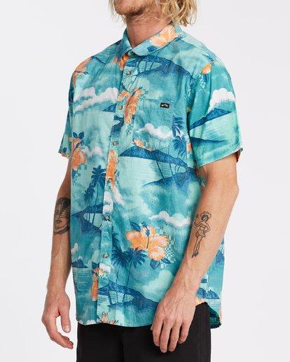 2 Sundays Floral - Camiseta de manga corta para Hombre Azul T1SH03BIS0 Billabong