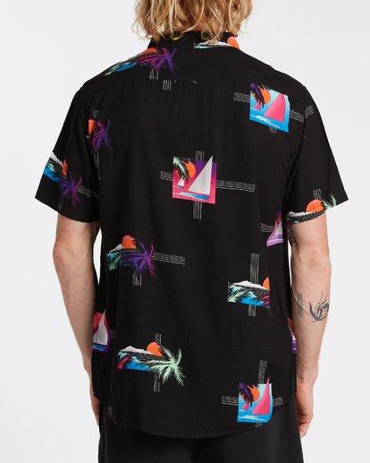 1 Sundays Floral - Camiseta de manga corta para Hombre Negro T1SH03BIS0 Billabong