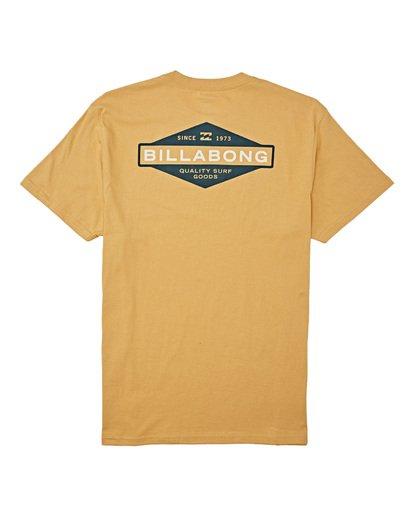 4 Autoshop - T-Shirt für Männer Silber T1SS12BIS0 Billabong