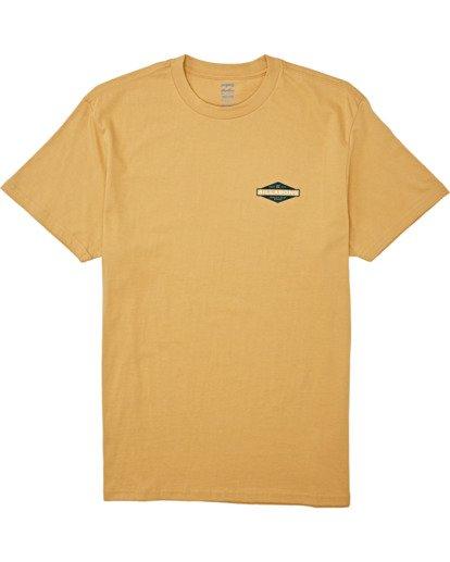 3 Autoshop - T-Shirt für Männer Silber T1SS12BIS0 Billabong