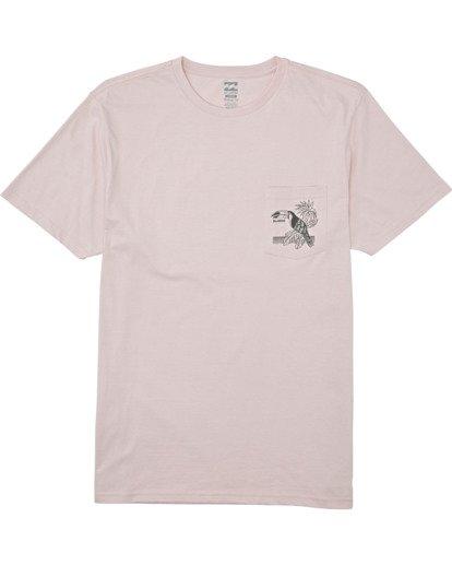 3 Dominical - T-Shirt für Männer Violett T1SS13BIS0 Billabong