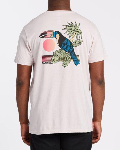 1 Dominical - T-Shirt für Männer Violett T1SS13BIS0 Billabong