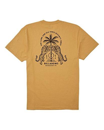 4 Double Tiger - T-Shirt für Männer Silber T1SS14BIS0 Billabong