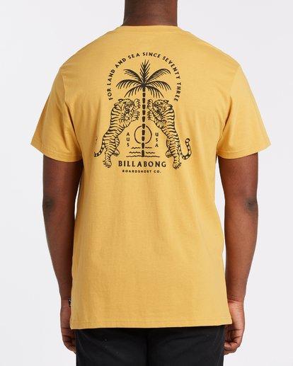 1 Double Tiger - T-Shirt für Männer Silber T1SS14BIS0 Billabong