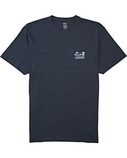 3 Lounge - T-Shirt für Männer Blau T1SS17BIS0 Billabong