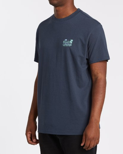 2 Lounge - T-Shirt für Männer Blau T1SS17BIS0 Billabong