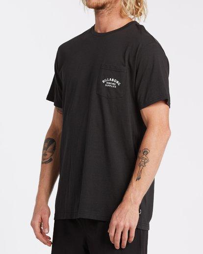 2 Surfing Goods - T-Shirt für Männer Schwarz T1SS19BIS0 Billabong