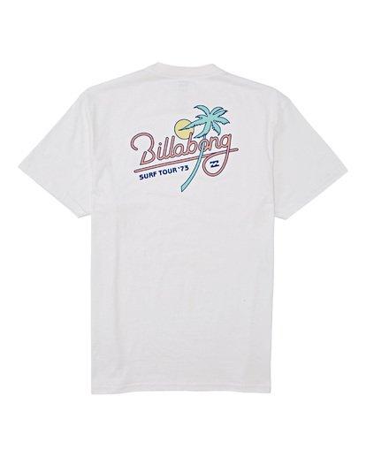 4 Surf Tour - T-Shirt für Männer Weiss T1SS20BIS0 Billabong