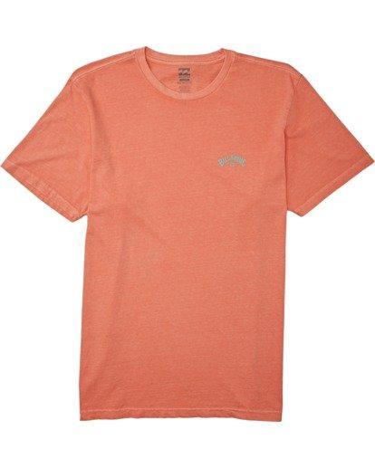 0 Arch Wave - T-Shirt für Männer Orange T1SS21BIS0 Billabong