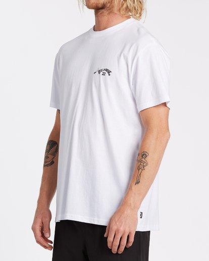 2 Truffula Photo - Camiseta para Hombre Blanco T1SS34BIS0 Billabong