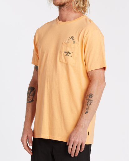 2 Lorax - T-shirt pour Homme Orange T1SS36BIS0 Billabong