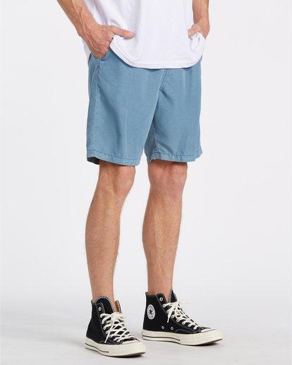 3 New Order - Shorts sumergibles para Hombre Azul T1WK05BIS0 Billabong