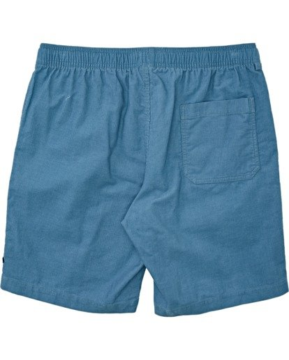 5 Larry Layback - Shorts de pana para Hombre Azul T1WK07BIS0 Billabong