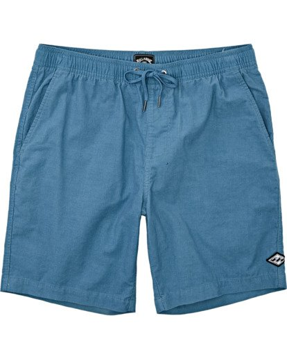 4 Larry Layback - Shorts de pana para Hombre Azul T1WK07BIS0 Billabong