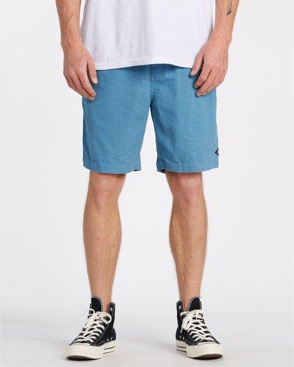 0 Larry Layback - Shorts de pana para Hombre Azul T1WK07BIS0 Billabong