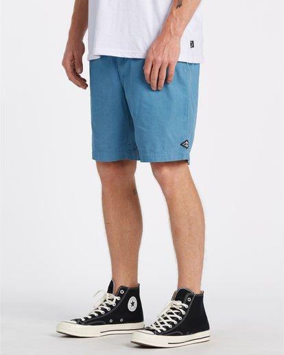 2 Larry Layback - Cord-Shorts für Männer Blau T1WK07BIS0 Billabong