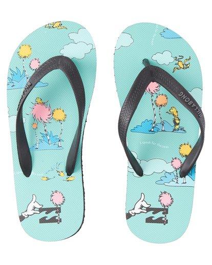 0 Lorax Island Tides - Zehensteg-Sandalen für Jungen Grün T2FF01BIS0 Billabong