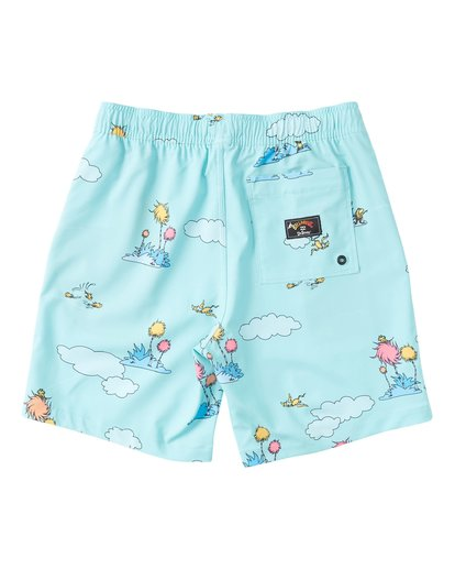 1 Lorax Sundays Layback - Swim Shorts for Toddlers Green T2LB02BIS0 Billabong