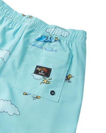 4 Lorax Sundays Layback - Swim Shorts for Toddlers Green T2LB02BIS0 Billabong