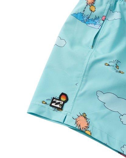 5 Lorax Sundays Layback - Swim Shorts for Toddlers Green T2LB02BIS0 Billabong