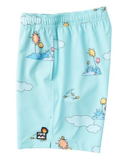 2 Lorax Sundays Layback - Swim Shorts for Toddlers Green T2LB02BIS0 Billabong