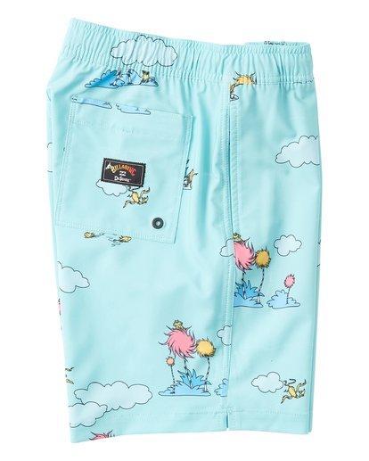3 Lorax Sundays Layback - Swim Shorts for Toddlers Green T2LB02BIS0 Billabong
