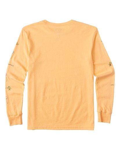 1 Lorax - Camiseta de manga larga para Chicos Naranja T2LS01BIS0 Billabong
