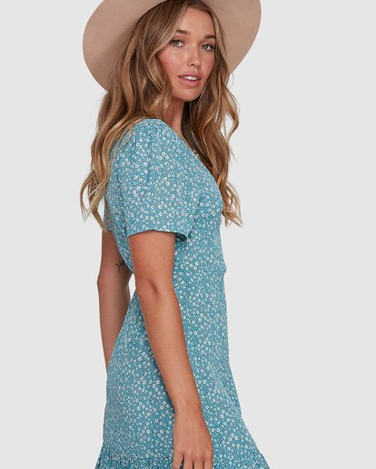 3 Bluesday - Wrap Dress for Women  T3DR50BIMU Billabong