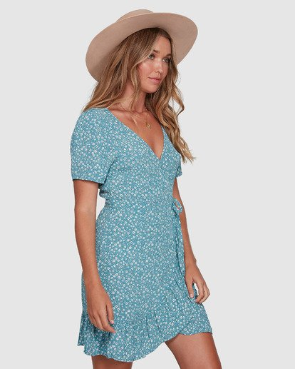 2 Bluesday - Wrap Dress for Women  T3DR50BIMU Billabong