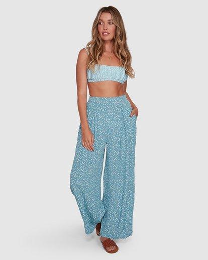 3 Bluesday - Hose mit weitem Bein für Frauen  T3PT30BIMU Billabong