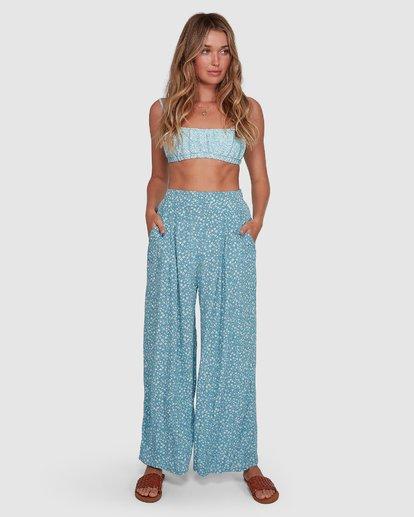 2 Bluesday - Hose mit weitem Bein für Frauen  T3PT30BIMU Billabong