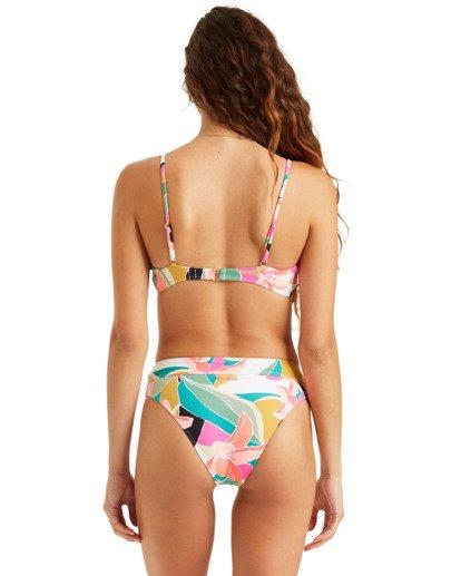 0 Wild Sun Maui Rider - Braguita de bikini talle alto para Mujer Multicolor T3SB01BIS0 Billabong