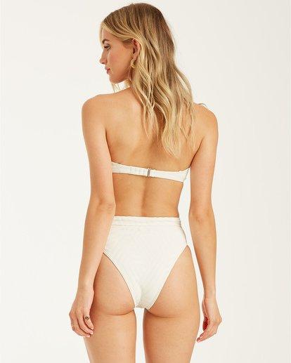 2 Peeky Days Rise - High Waist Bikini Bottoms for Women White T3SB10BIS0 Billabong