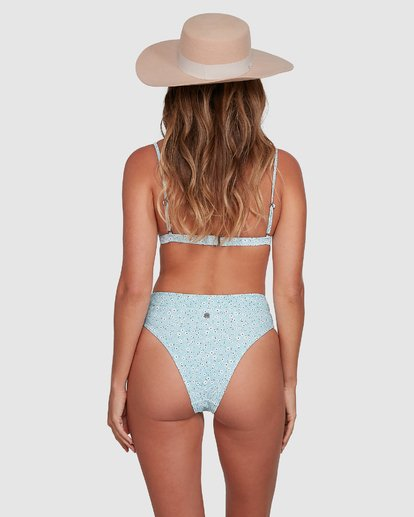 1 Bluesday Maui - Skimpy Bikini Bottoms for Women Blue T3SB87BIMU Billabong