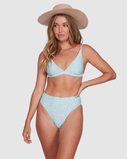 0 Bluesday Maui - Skimpy Bikini Bottoms for Women Blue T3SB87BIMU Billabong